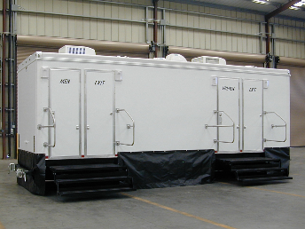 Premier Plus restroom trailer suites