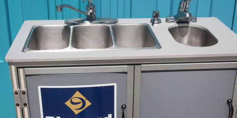 Portable Sinks-Portable Sink-Renting a hand sanitizer stations
